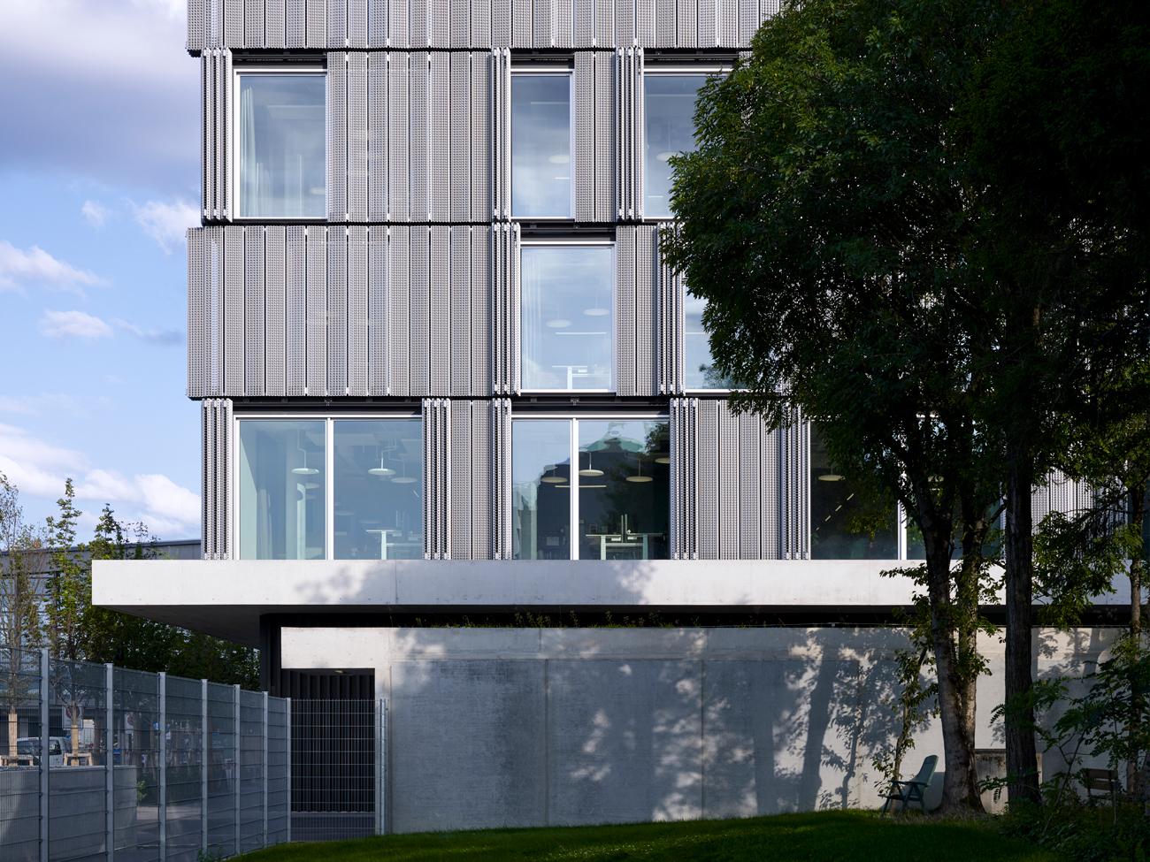 Exterior designed by Herzog & de Meuron